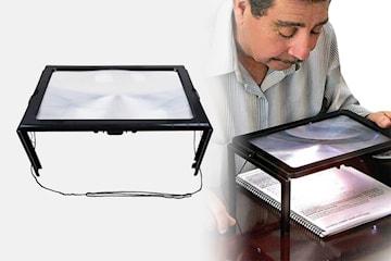 Förstoringsglas med LED-belysning