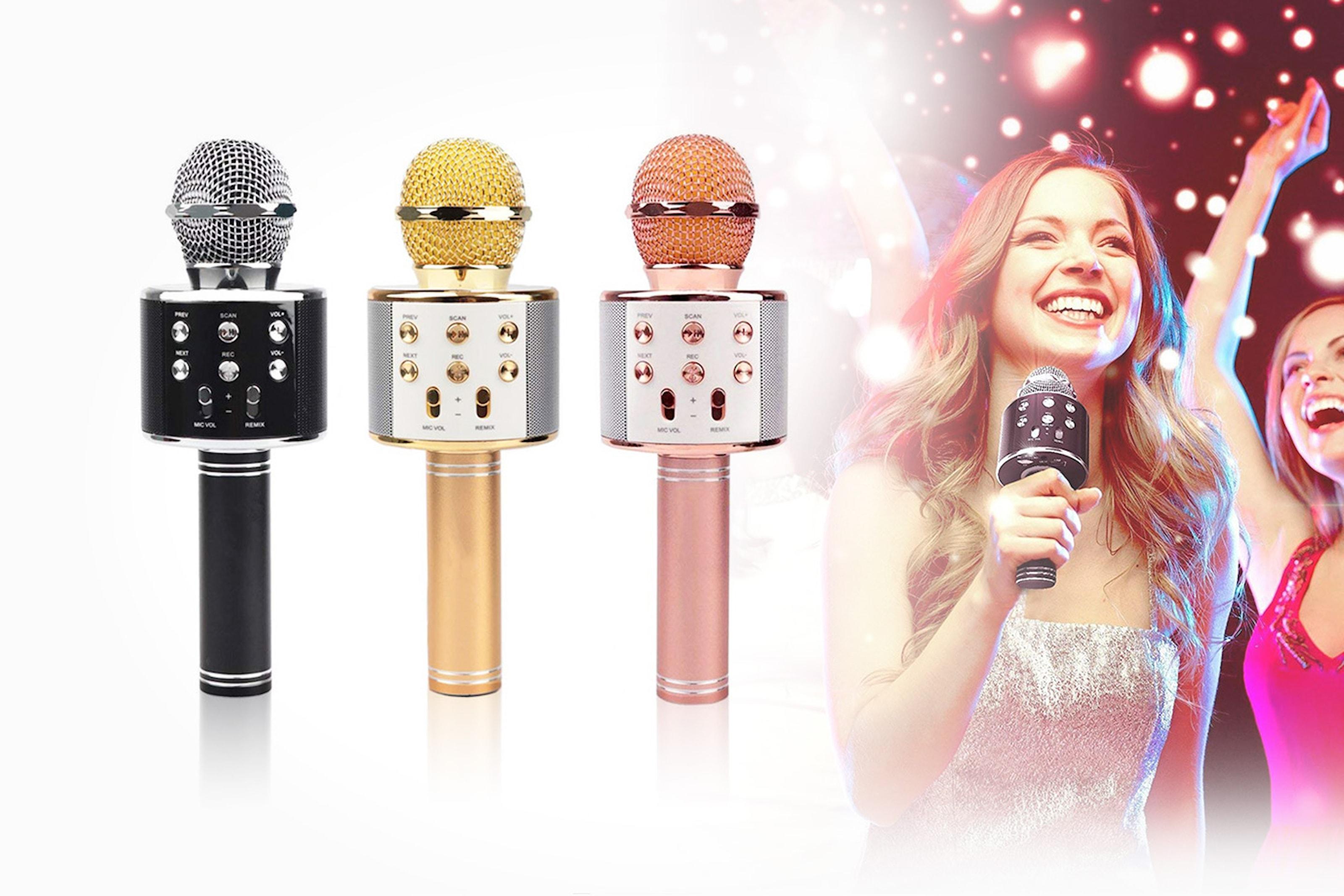 Karaoke-mikrofon