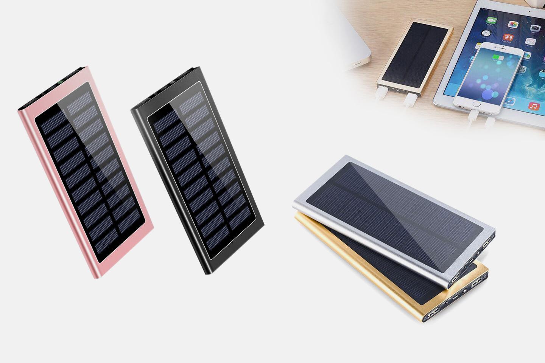 Powerbank med solcellepanel (1 av 5)