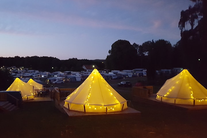 Boende på Seläters Camping i Strömstad