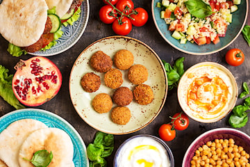Lunch eller takeaway på Libanon Grill & Meza
