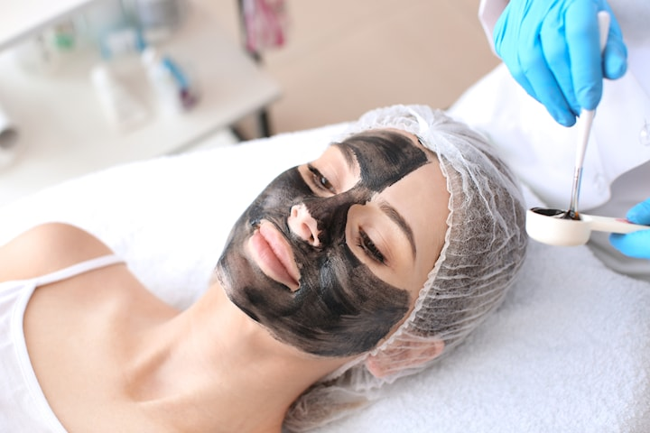 Ansiktsbehandling, carbon peeling med laser