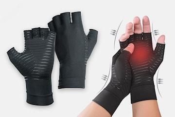 Handskar med kompression