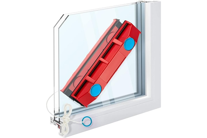 Magnetisk vindusrenser for 8-20 mm glass - gjør rengjøringen enklere og jevnere