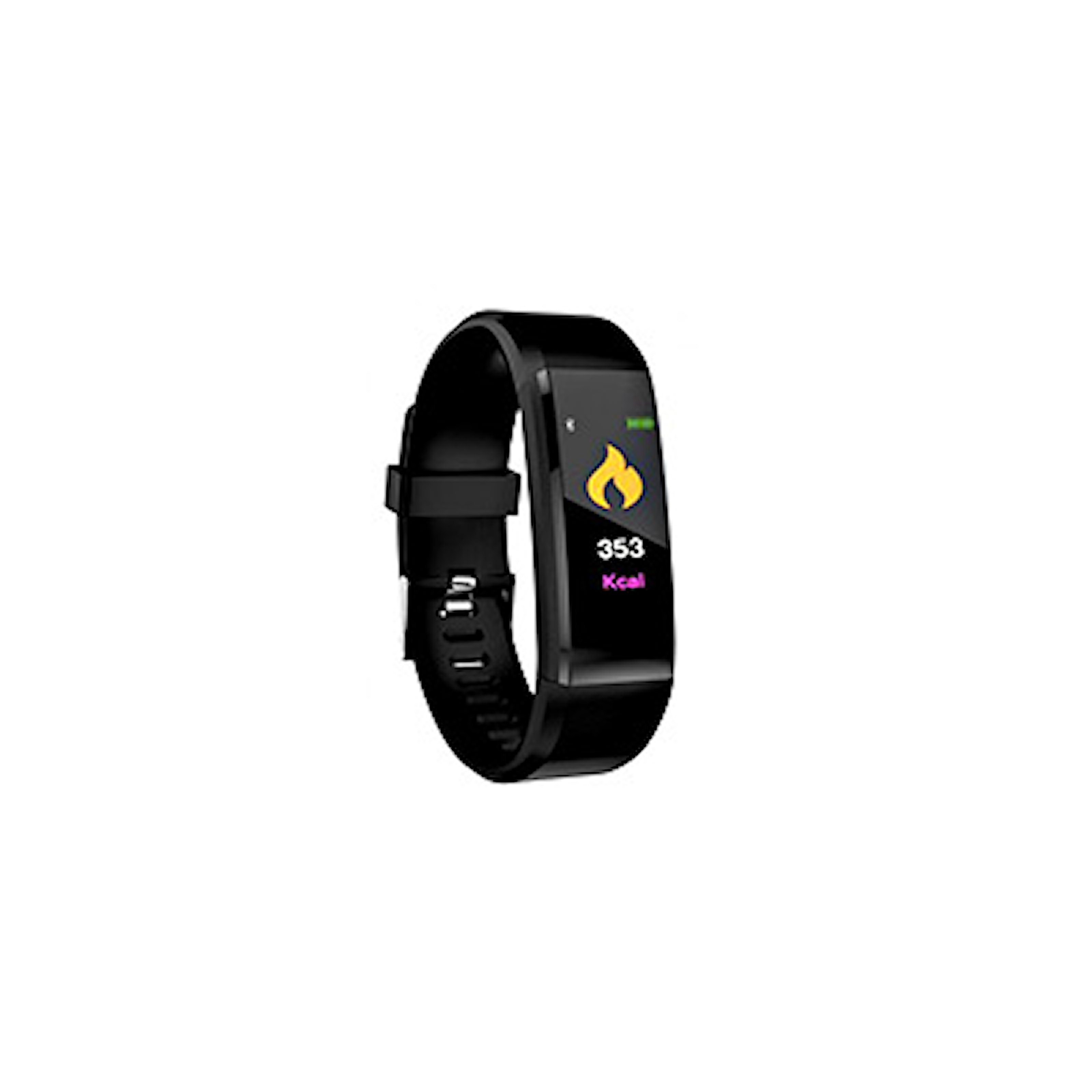 Svart, Smart Watch 115, Aktivitetsarmband, ,