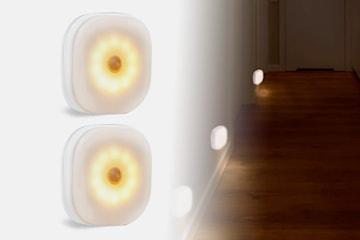 Rörelsesensor nattljus 2- eller 4-pack