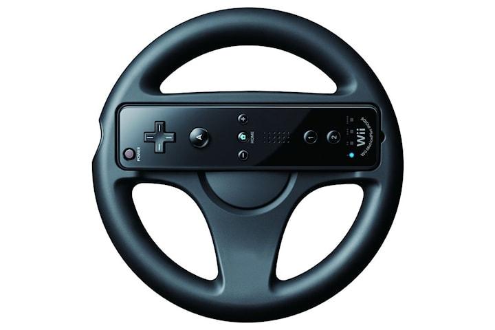 Racing ratt till Wii / Wii U - Svart