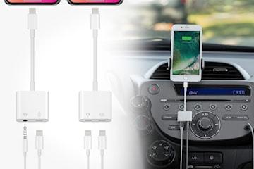 Split-adapter för Apple-produkter