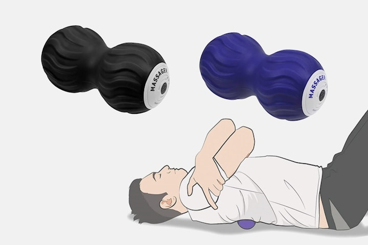 Vibrerende massasjerulle