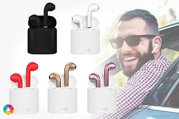 Trådløse TWS hodetelefoner + ladeboks