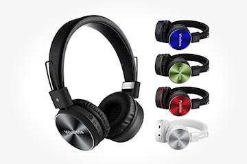 Trådløse hodetelefoner med HiFi-lyd