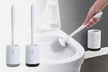 Toalettbørste i silikon