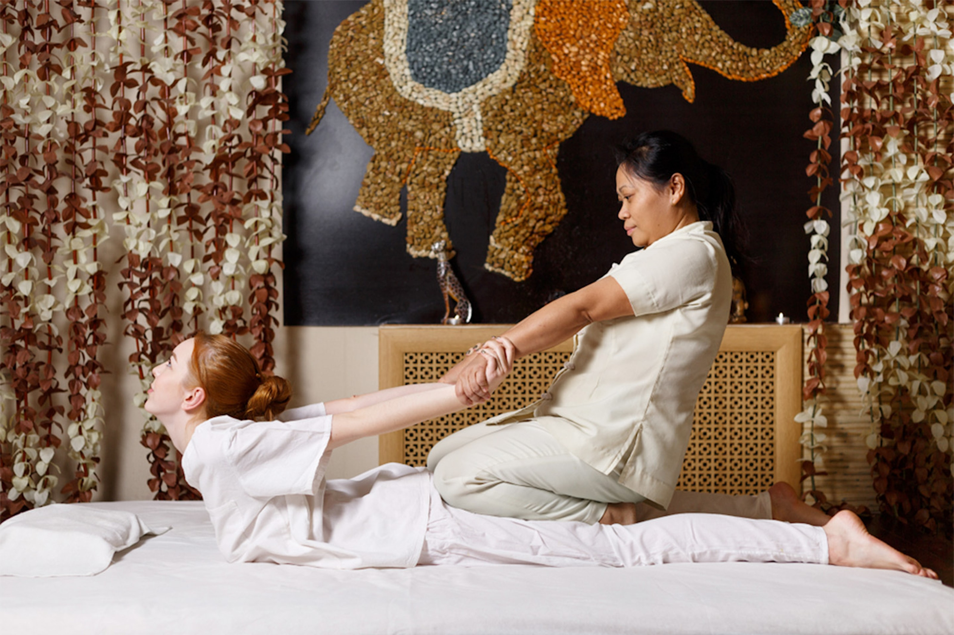 60 minuter medicinsk thaimassage med akupressur