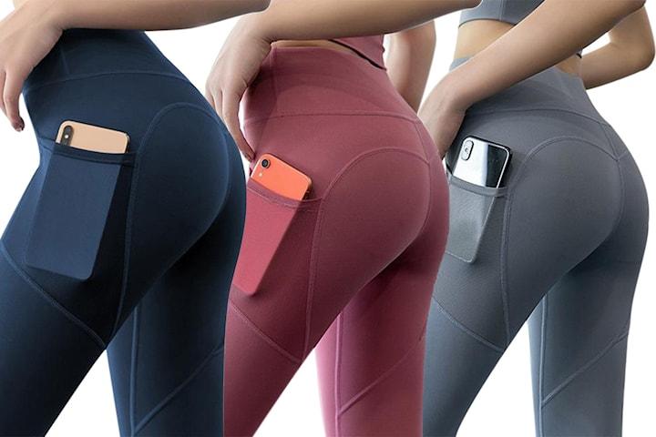 Sportstights med lomme