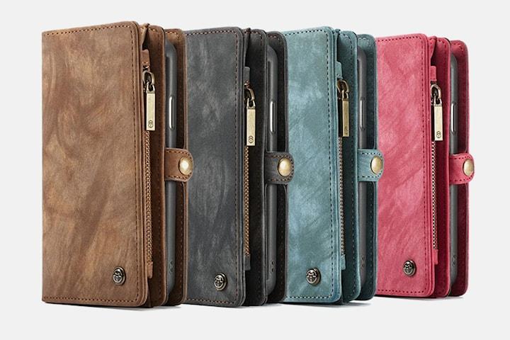 Case me - Magnetisk lommebok og iPhone cover