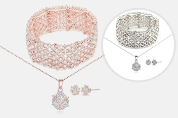 Avia smyckeset med Swarovski-kristaller