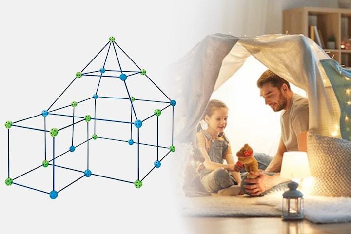 Hule-byggesett for barn inkl. duk