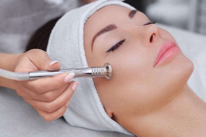 Microdermabrasion hos Permanent Makeup Senter