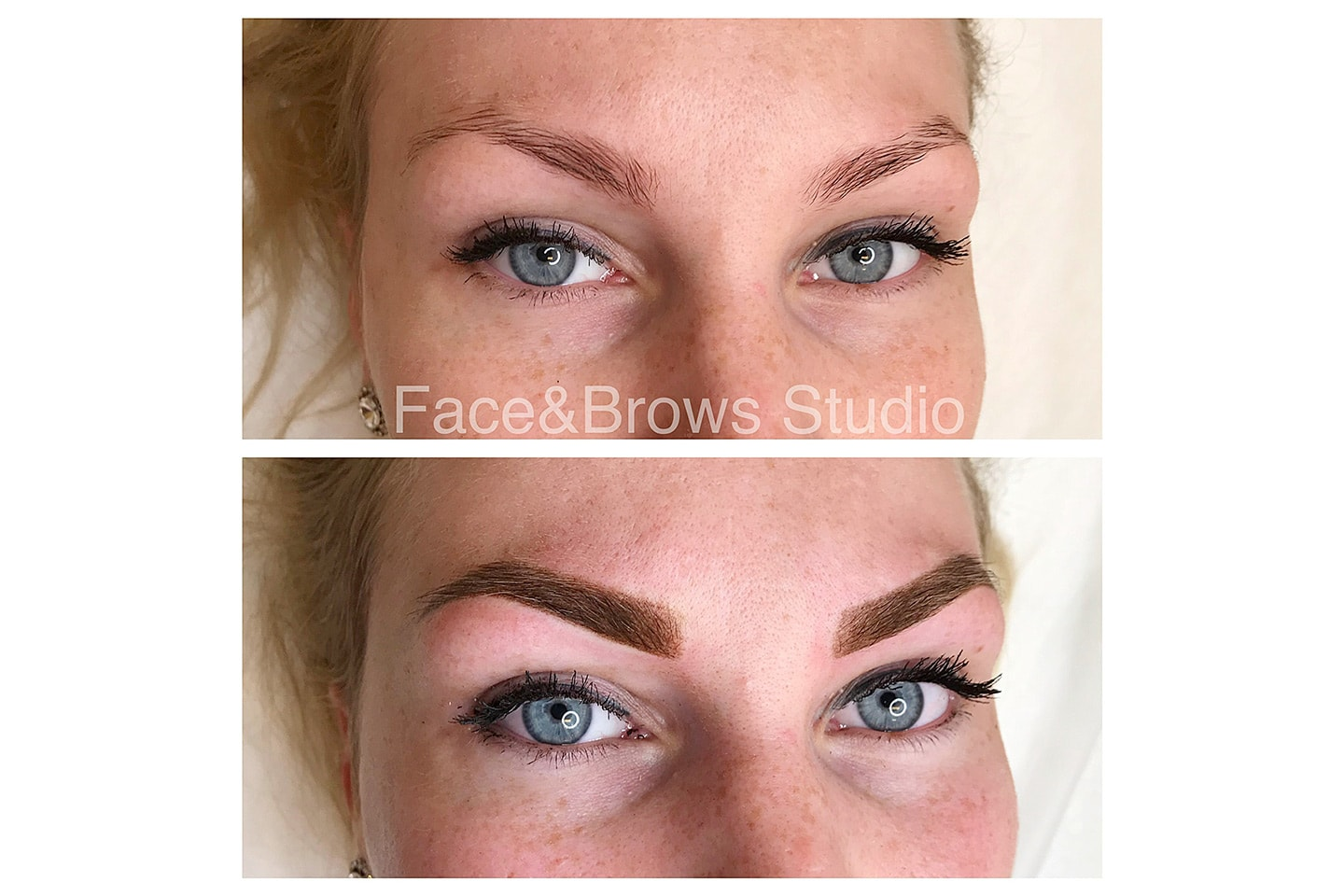 Powder Brows med maskin hos Face and Brows
