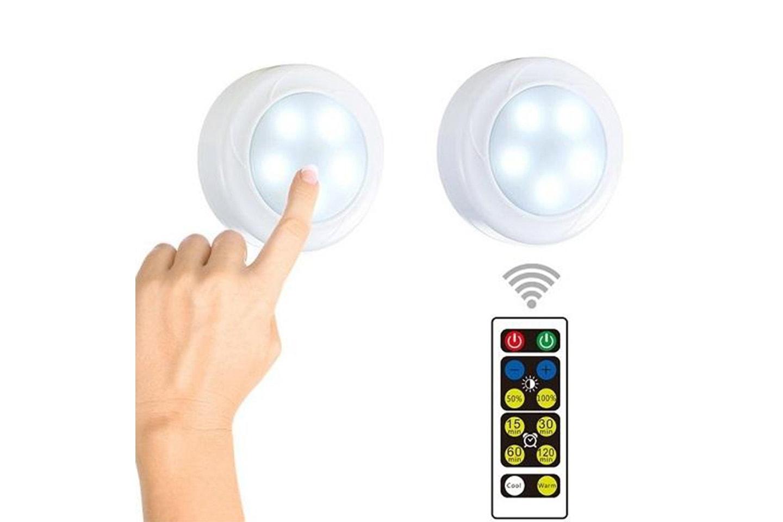 LED-lampa med touchfunktion 2-, 4- eller 6-pack