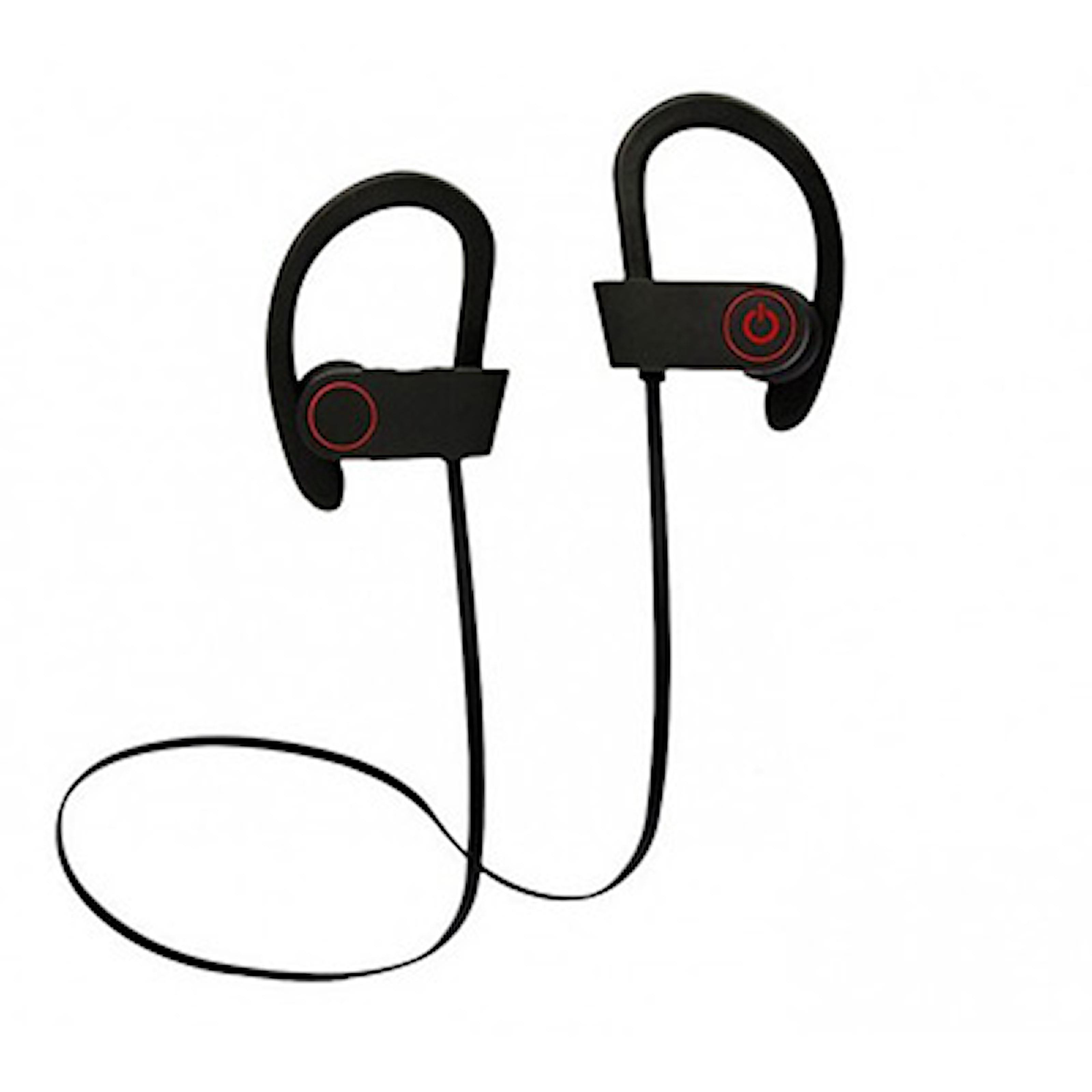 Svart/Svart, Bluetooth Sports Headphones, Bluetooth hodetelefoner, ,