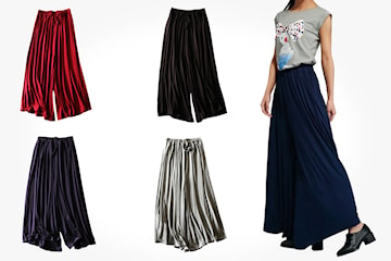 Bukse med brede ben