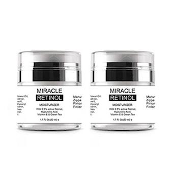 2 bowls Miracle Retinol Cream, 2-pack Anti aging-kräm, burk, ,