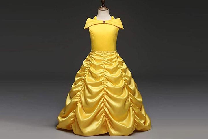 Prinsessklänning, med eller utan tillbehör