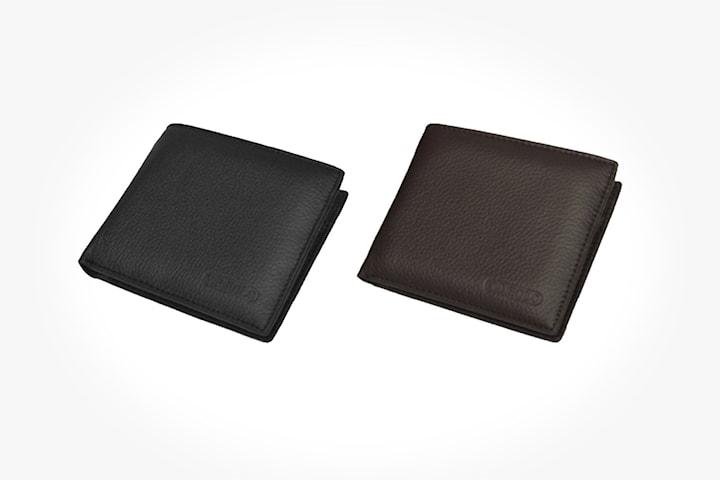 Plånbok i äkta läder