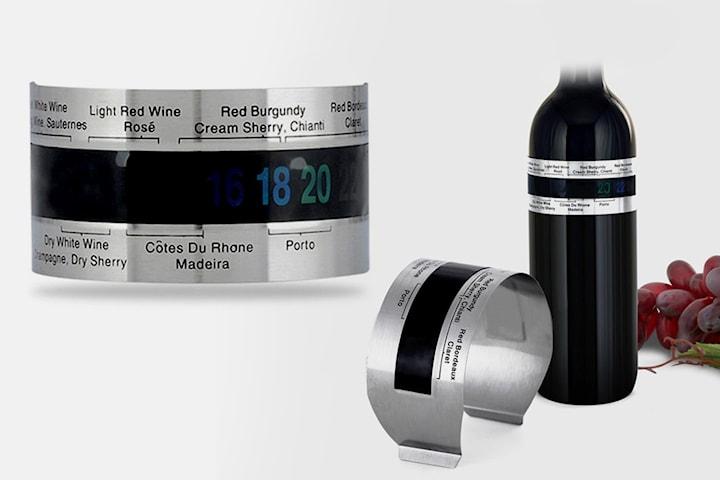 Termometer till vinflaska 2- eller 4-pack