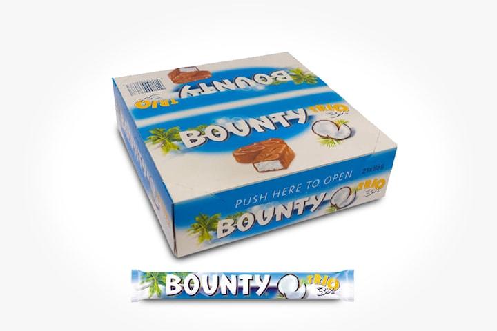 Bounty Trio, 21-pack á 85 g