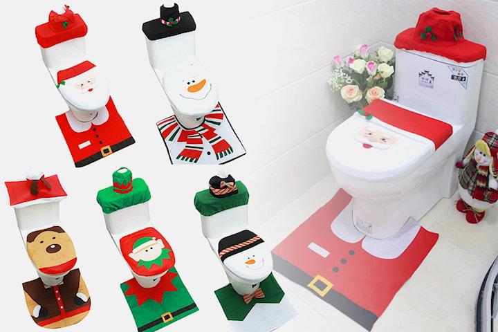 Juldekoration toalett