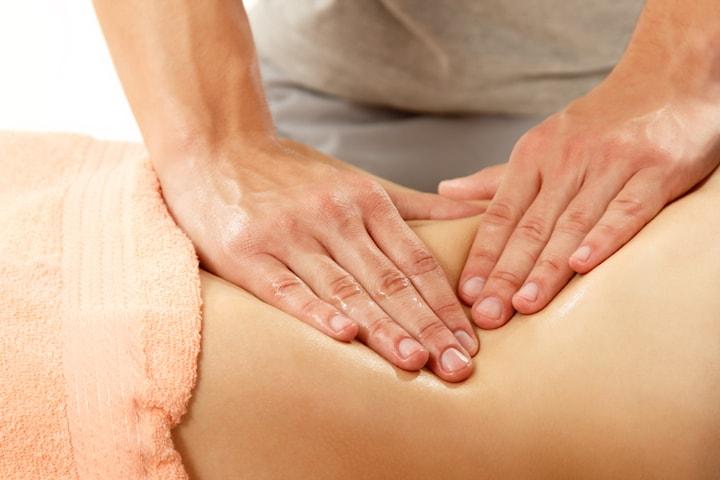 Bindvävsmassage eller yinyangmassage