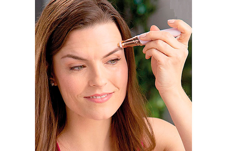 Elektrisk hårfjerner til øyebryn