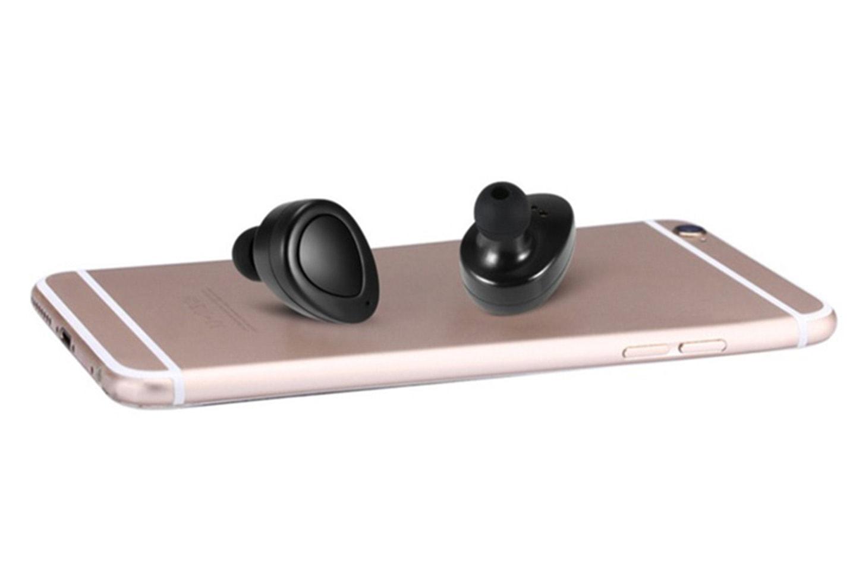 TWS Trådløse in-ear hodetelefoner med ladeboks