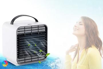 Luftkjøler med nattlampe