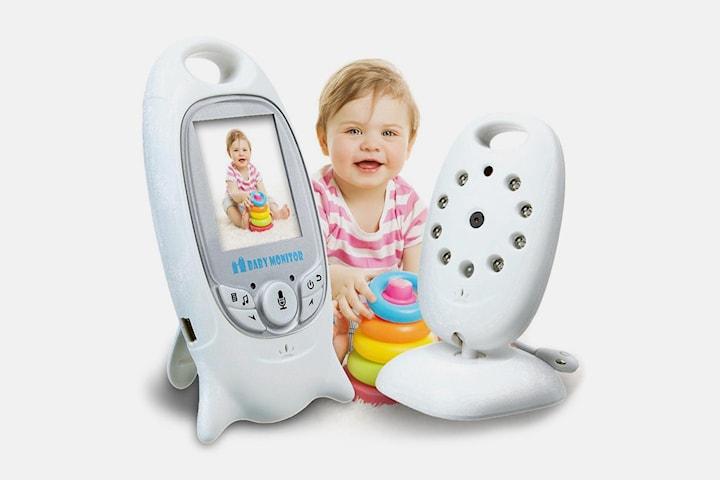 Babyvakt med kamera och monitor