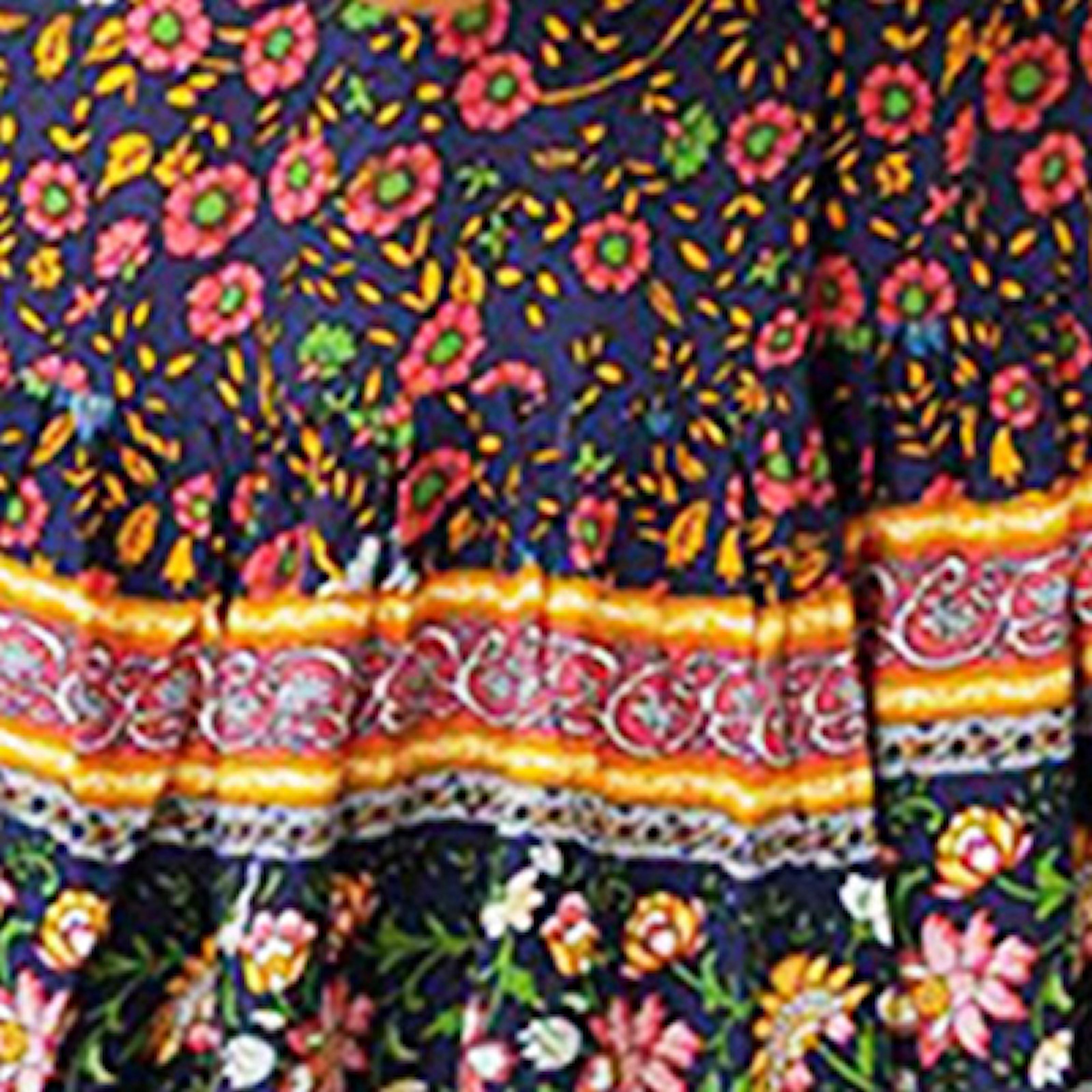 Mørkeblå, L, Short Summer Dress Wrap Around, Sommerkjole med v-hals, ,