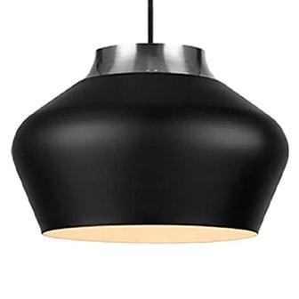 """Svart, Pendant Lamp """"Kom"""" from Markslöjd, Markslöjd Kom taklampa, ,"""