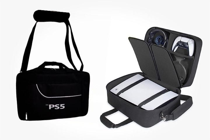 Resväska för PS5-tillbehör