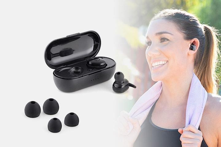 eBeats magnetiske in-ear hodetelefoner