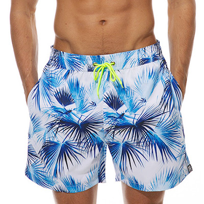 M, Middelhavsk, Men's Swimming Shorts Print, Badeshorts til menn, ,  (1 av 1)