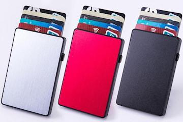 RFID-korthållare i aluminium