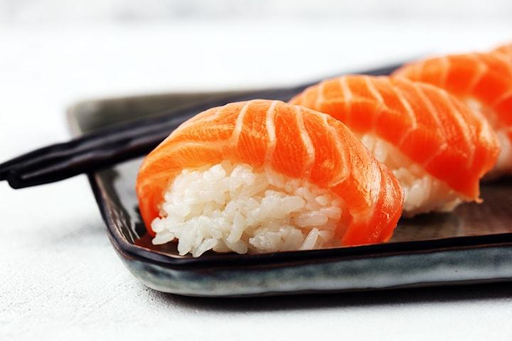 Take away-sushi för hela familjen