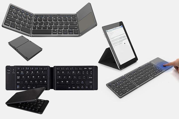 Vikbart Bluetooth-tangentbord