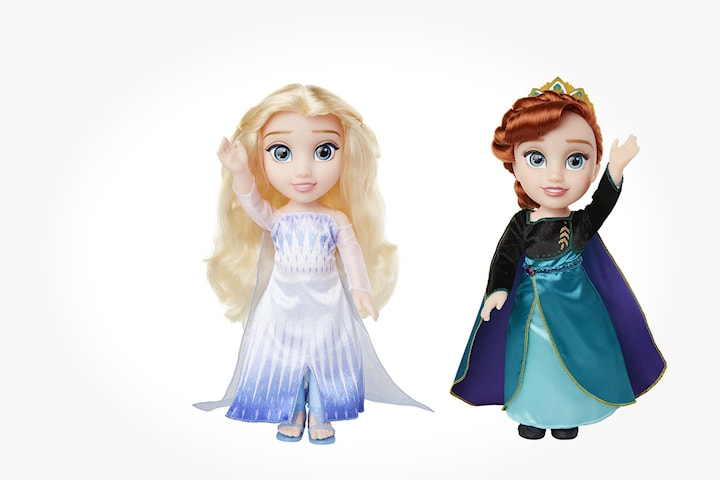 Disney Frozen 2 Elsa- eller Anna-docka