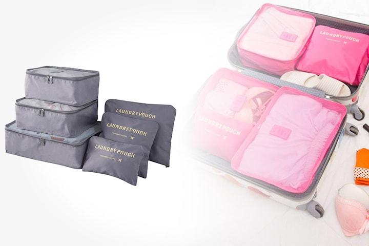 Lagringsposer til koffert 6-pack