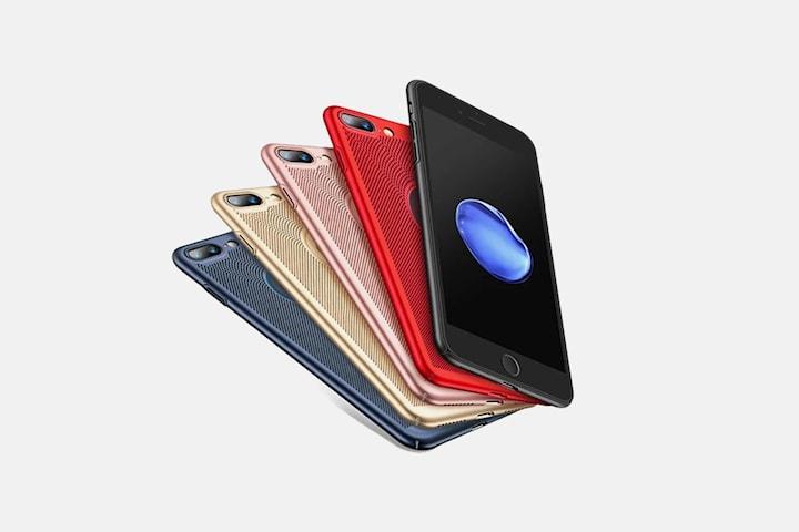 Solid skalldeksel for iPhone