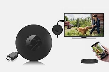 Mediaspelare 4K streamar film och musik från mobil/surfplatta till TV:n
