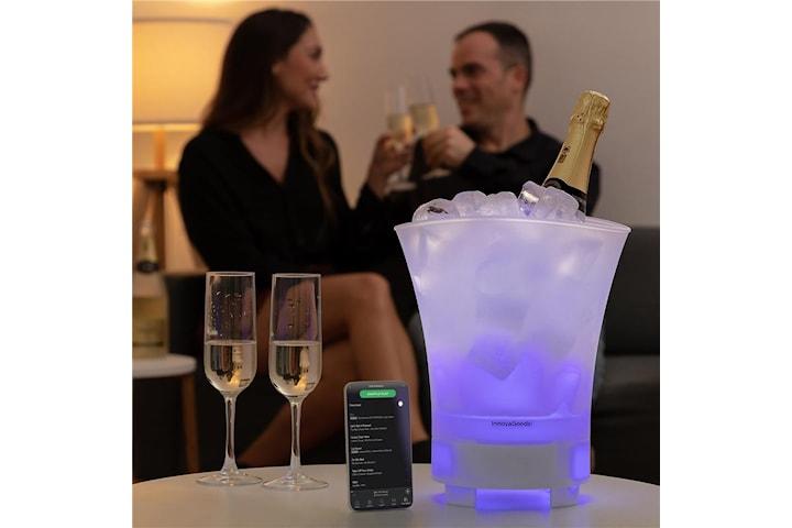 InnovaGoods Sonice Kombinerad Högtalare och Ishink med LED